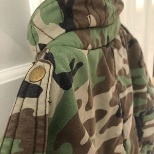 Ralph Lauren Jackets & Coats - Ralph Lauren Denim & Supply Camo Motorcycle Jacket